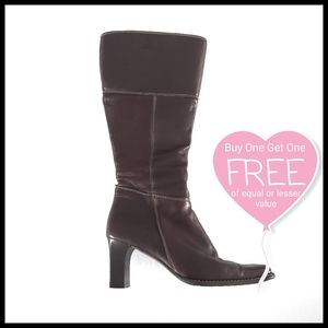 ⭐BOGO⭐Bravo Browns Leather Heeled Boots